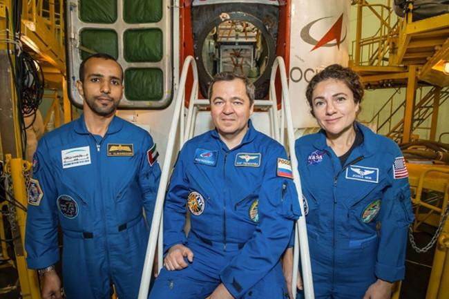 Soyuz MS-15 Crew