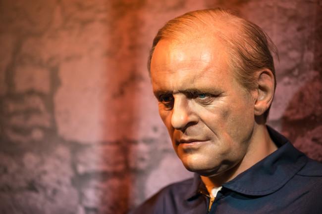 creepy Anthony Hopkins, Hannibal Lecter - Shutterstock