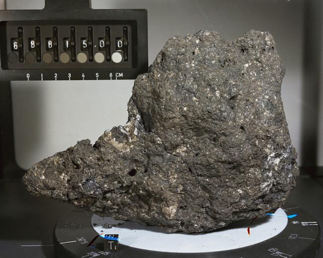 Earth Metal Moon Rock - NASA