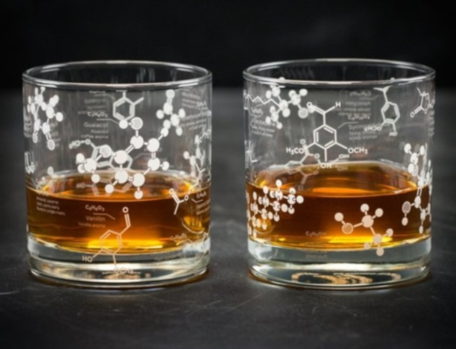 The Science Of Whiskey Glass Set