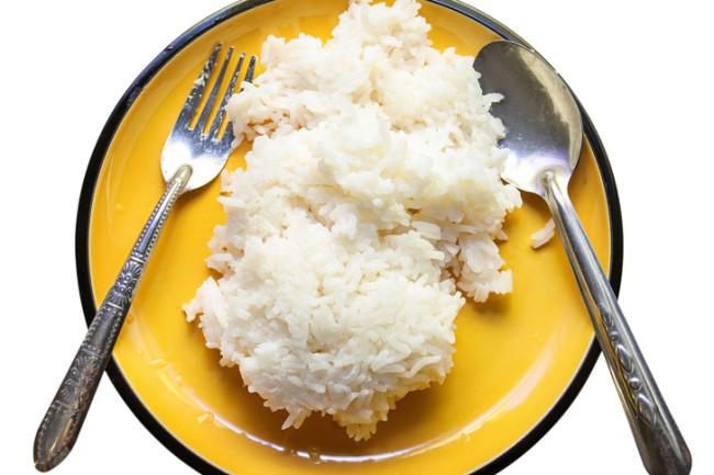 White Rice - Shutterstock