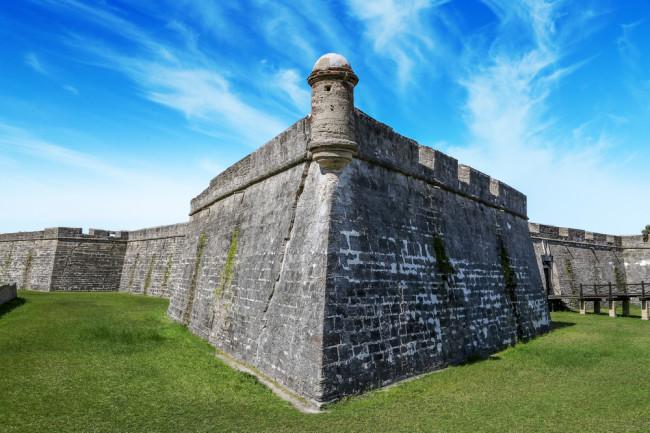 Castillo de San Marcos in St Augustine, Florida - Shutterstock