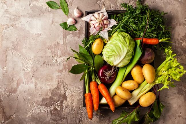 Variety of vegetables - Shutterstock