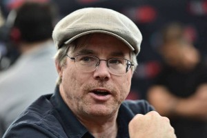 Andy Weir talks about the Mars series at a Comic Con panel in New York City. (Credit: National Geographic)