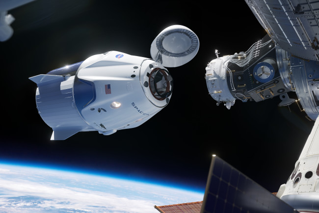 SpaceX Crew Dragon ISS - SpaceX
