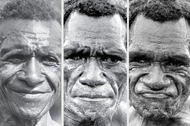 new guinea man faces - Ekman group