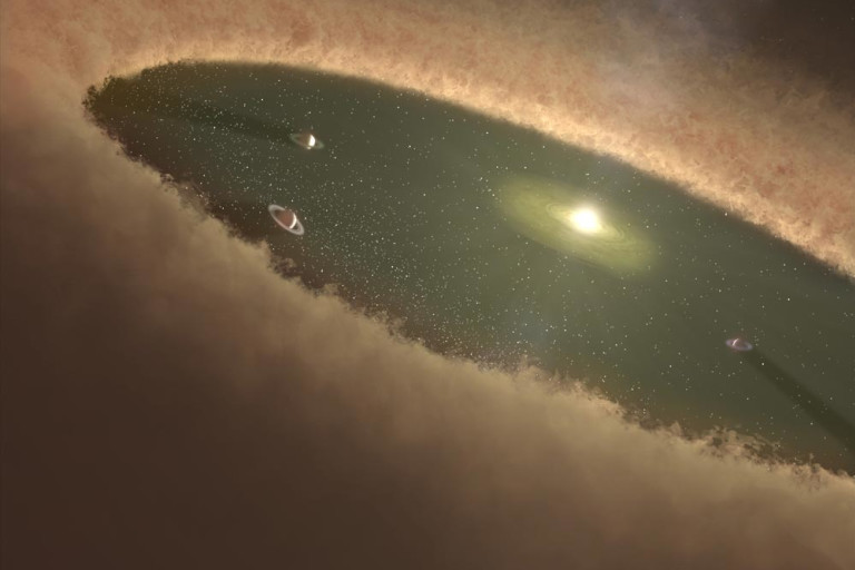 Small and Rocky or Big and Gassy: The Two Main Kinds of Planets