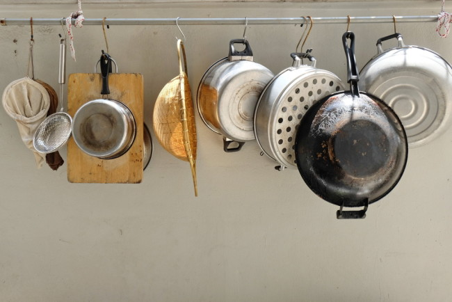 pot and pan collection - shutterstock