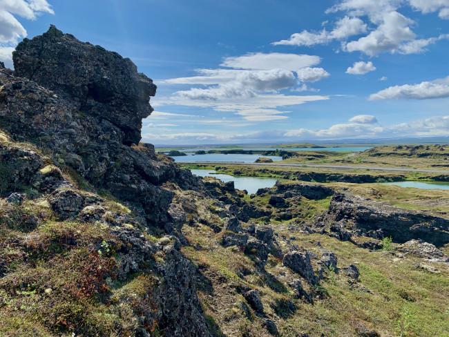 View of Mývatn