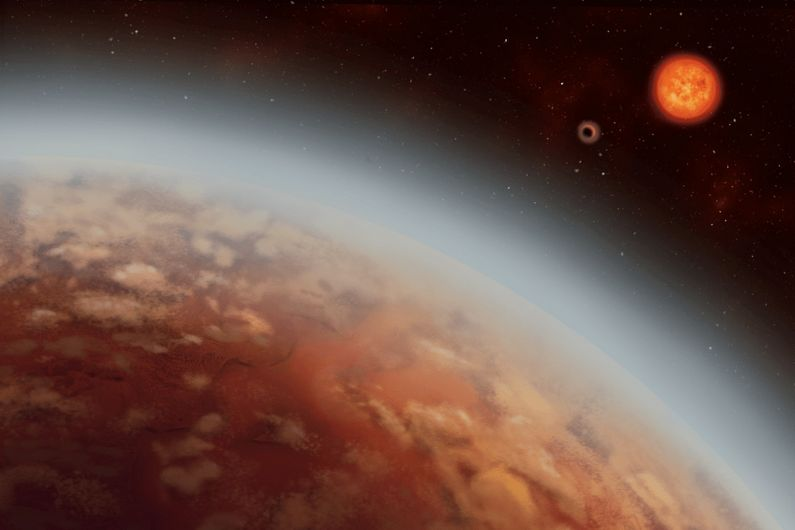 Astronomers Find Water Vapor in Atmosphere of a Habitable-Zone Exoplanet for the First Time