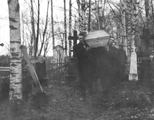 1918 Flu Pandemic Funeral - U.S. National Archives