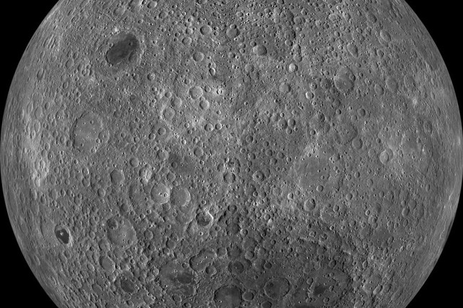 Moon Farside via LRO - NASA