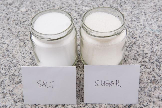 salt vs sugar