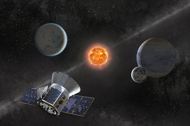 TESS NASA spacecraft hunts exoplanets
