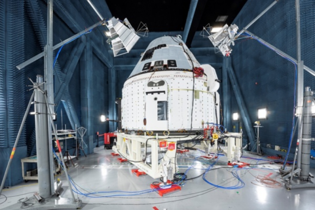 Boeing's Starliner capsule. (Credit: NASA)