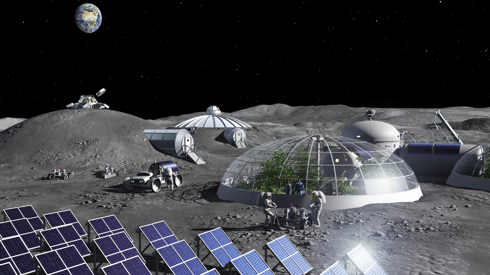 Making Air from Moondust: Scientists Create a Prototype Lunar Oxygen Plant