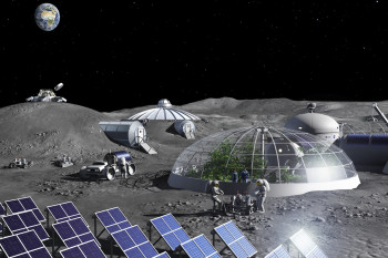 Making Air from Moon dust: Scientists Create a Prototype Lunar Oxygen Plant