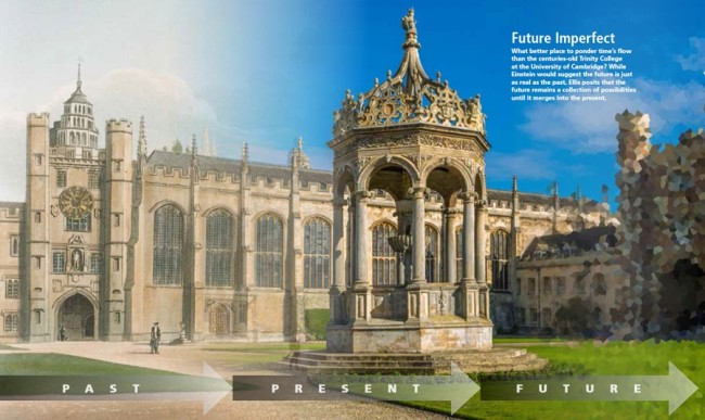 Trinity College at the University of Cambridge infograph - Bishop/Disco
