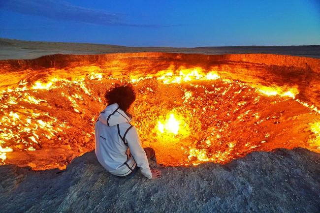 Turkmenistan's Door to Hell