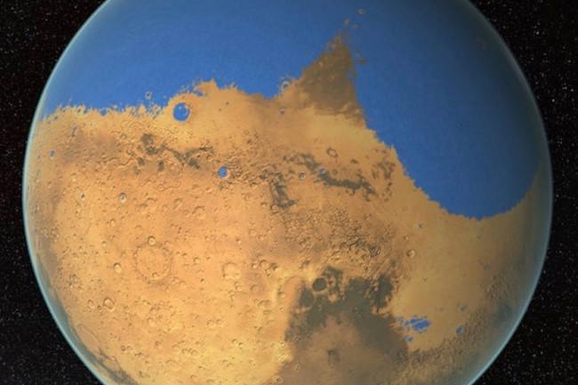 Mars Ocean - NASA