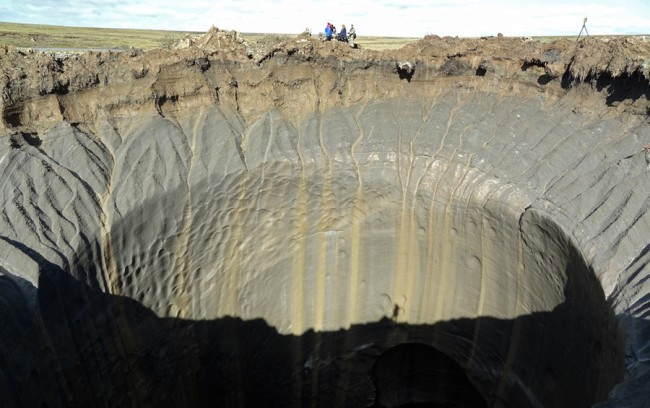 Permafrost Crater - Getty