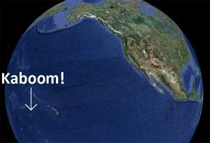 Starfish Prime Map - NEEDS CREDIT