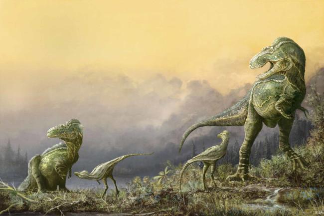 Teratophoneus curriei - Mark Witton