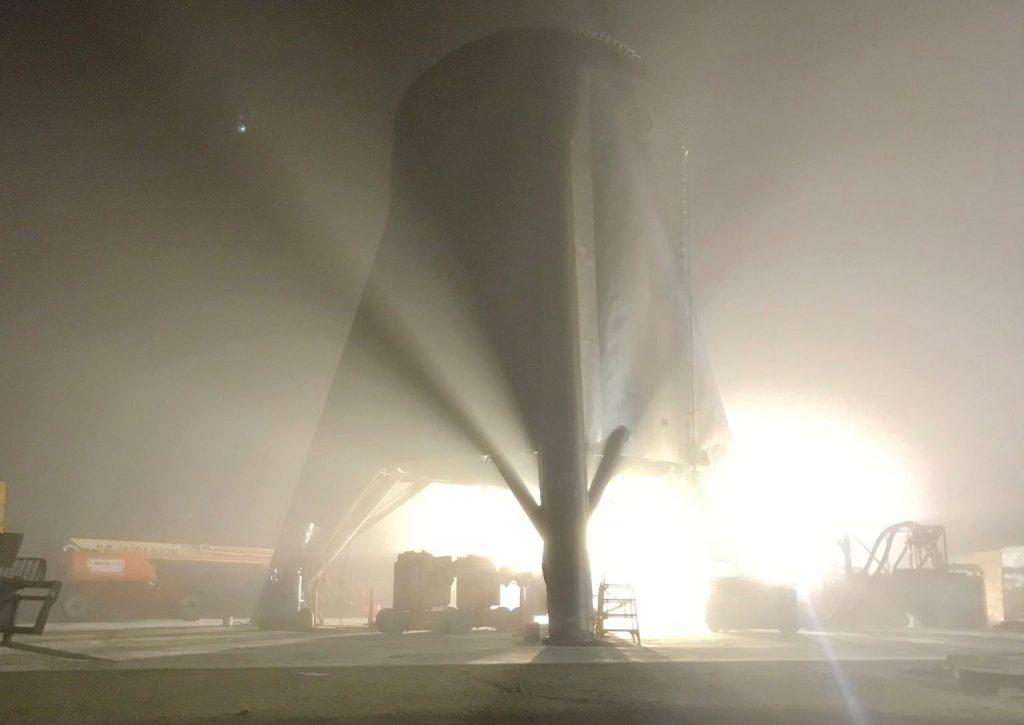 Starhopper - SpaceX