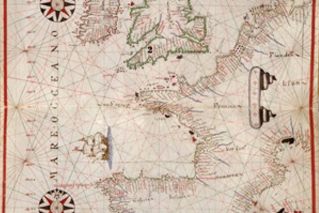 Portolan Chart - Library of Congress