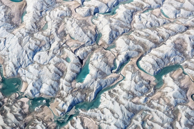 Russell Glacier, Greenland - NASA's Operation IceBridge