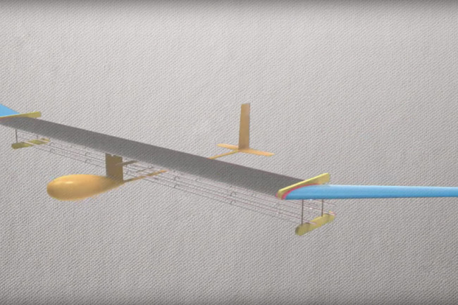 ionic wind drone plane