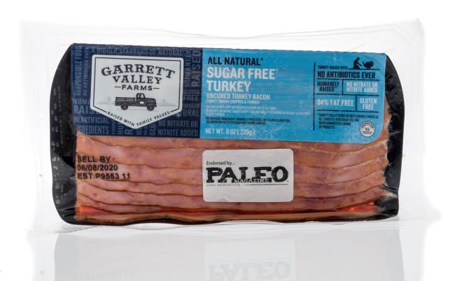 paleo bacon - shutterstock