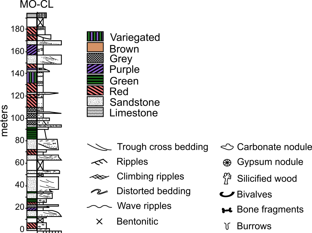G-sedimentary-log 0-1024x765
