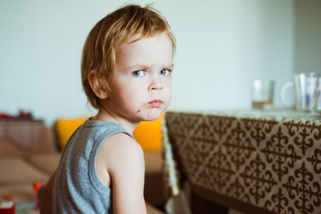Grumpy Kid Shutterstock