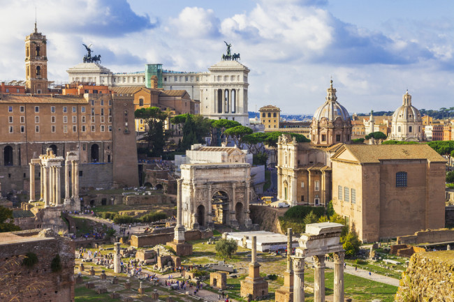 DNA Analysis of Ancient Rome Reveals a Cosmopolitan Megacity
