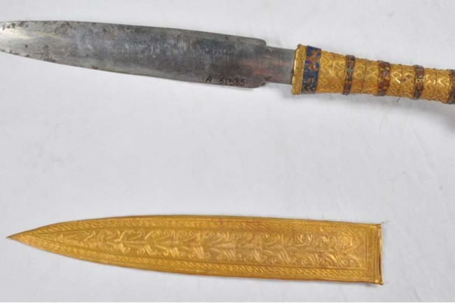 King Tut Was Buried with a Cosmic Dagger