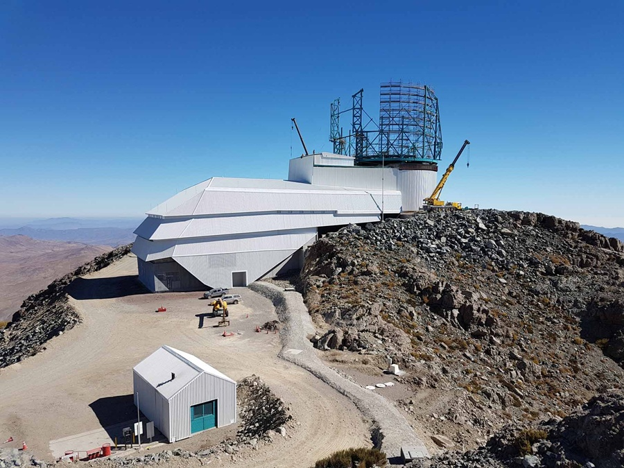 Large Synoptic Survey Telescope's dome