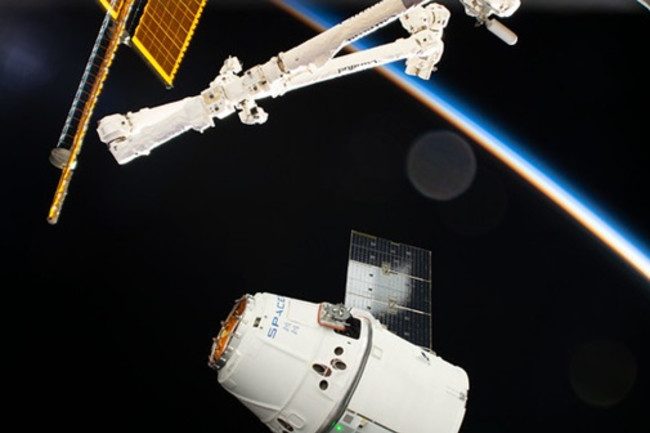 SpaceX Dragon and ISS