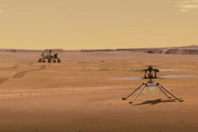 NASA mars ingenuity helictoper