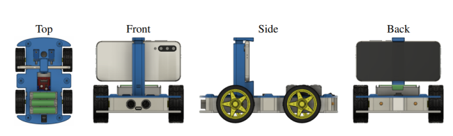 OpenBot: a robot powered by a smartphone