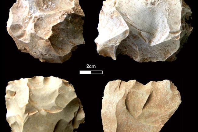 India stone tools - Chris Clarkson