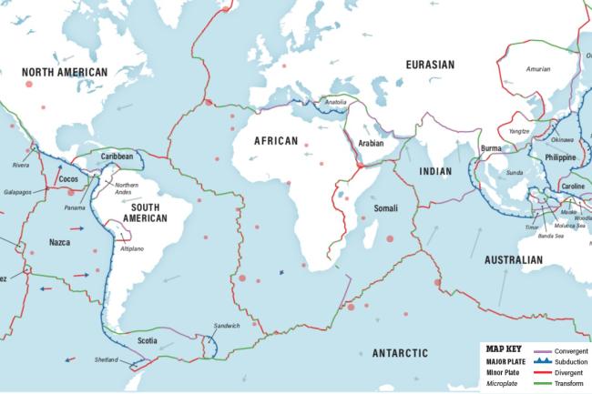 tectonic plate map of the world Plate Tectonics The Slow Dance Of Our Planet S Crust Discover