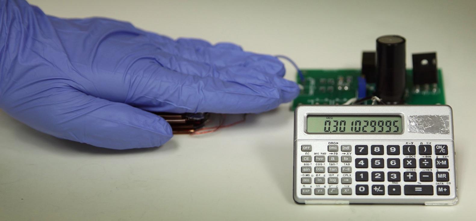 TENG powering calculator - Zhong Lin Wang