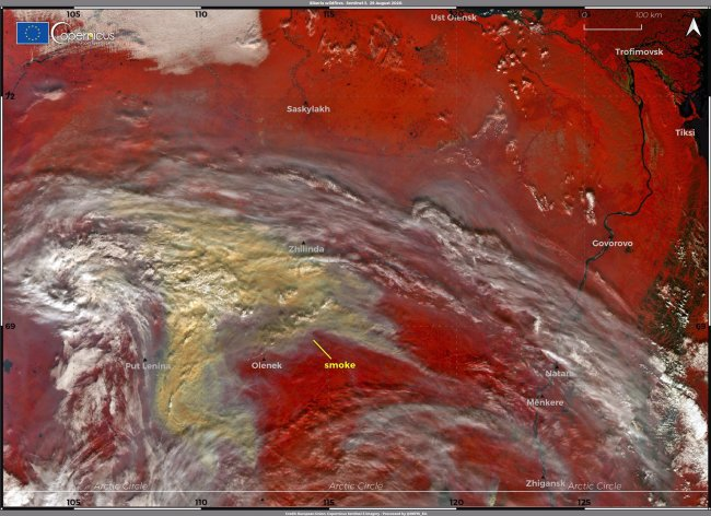 Smoke From Siberian Wildfires