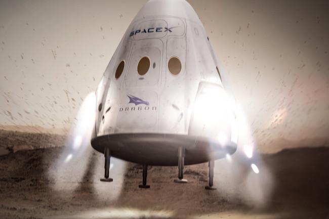 Mars Lander - SpaceX
