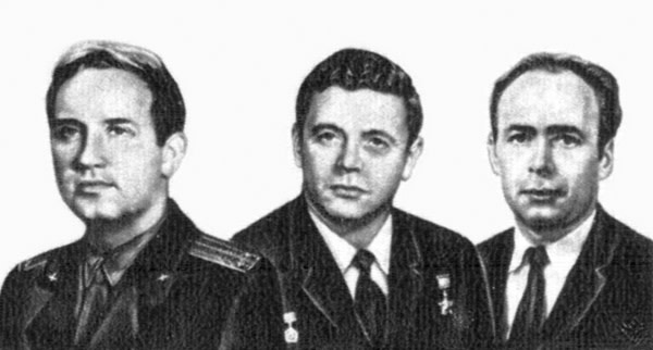 Soyuz 11 crew - USSR Post