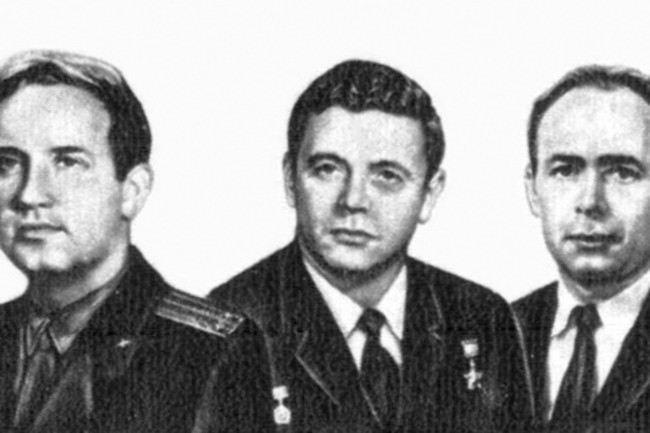 Soyuz 11 crew - USSR Post