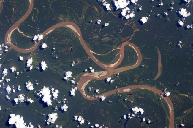 Ucayali River, Amazon, Peru - NASA