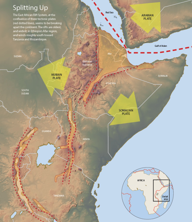 East Africa Rift System - Jay Smith