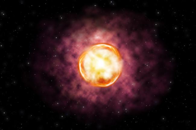 Supernova 2016iet - NSF
